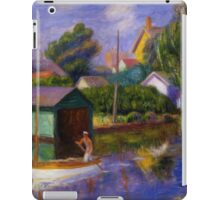 William Glackens - Washington Square  iPad Case/Skin