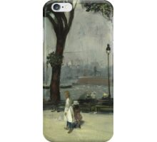 William Glackens - East River Park  iPhone Case/Skin