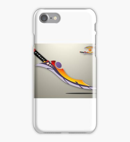 THE HEAVENLY SWORD  iPhone Case/Skin
