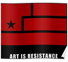 AIR -Art Is Resistance Poster