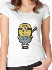 Minions Stuart Women's Fitted Scoop T-Shirt