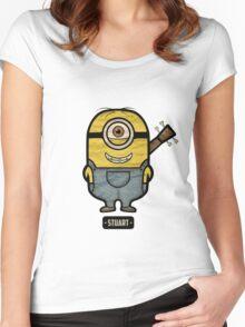 Minions Stuart Women's Fitted Scoop T-Shirt
