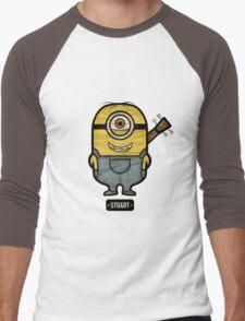 Minions Stuart Men's Baseball ¾ T-Shirt