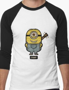 Minions Stuart Men's Baseball ¾ T-Shirt