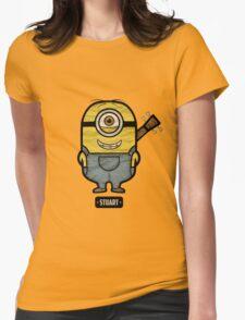 Minions Stuart Womens Fitted T-Shirt