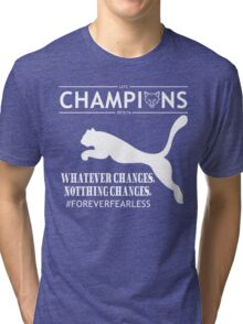 Leicester City FC champions Tshirts Tri-blend T-Shirt