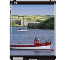 Kinsale Harbour looking towards the old Charles Fort iPad Case/Skin
