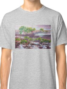 Mangroves in the rain ,Cleveland Bay Brisbane  Classic T-Shirt
