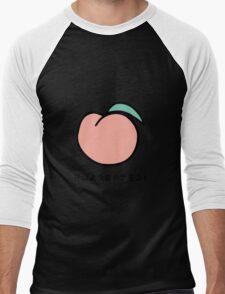 peach Men's Baseball ¾ T-Shirt