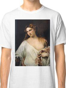 Tiziano Vecellio, Titian - Flora  Classic T-Shirt