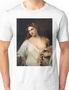 Tiziano Vecellio, Titian - Flora  Unisex T-Shirt