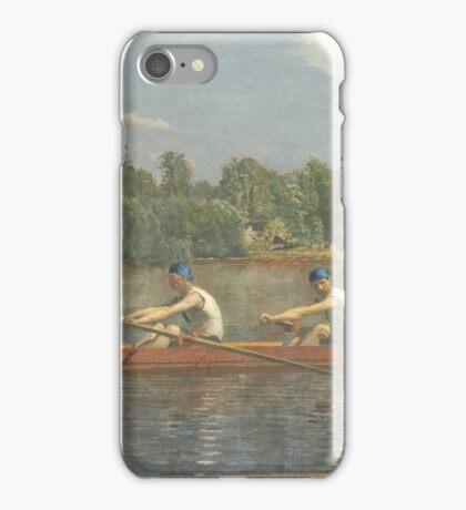 Thomas Eakins - The Biglin Brothers Racing  iPhone Case/Skin