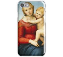 Raphael - The Small Cowper Madonna  iPhone Case/Skin