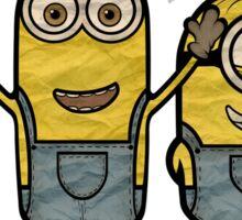 Minions Bob Kevin Stuart Sticker
