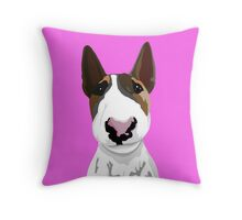Boyka Bull Terrier  Throw Pillow
