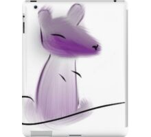 Fuzzy Purple Rat iPad Case/Skin