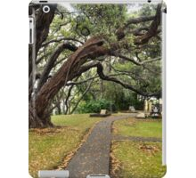 Autumn scenery at historical Tauranga Mission Cemetery iPad Case/Skin