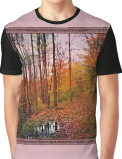 Somewhere in Time ~ A Logging Trail Graphic T-Shirt
