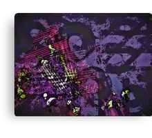 A History of Violets Canvas Print