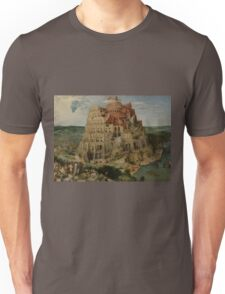 Pieter Bruegel the Elder  - The Tower of Babel  Unisex T-Shirt