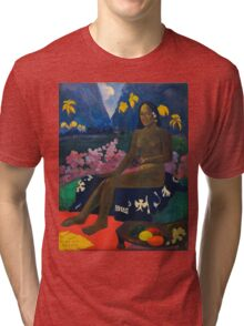Paul Gauguin - The Seed of the Areoi  Tri-blend T-Shirt