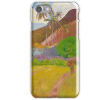 Paul Gauguin - Tahitian Landscape  iPhone Case/Skin