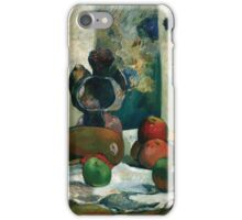 Paul Gauguin - Still Life with Profile of Laval iPhone Case/Skin