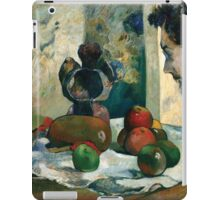 Paul Gauguin - Still Life with Profile of Laval iPad Case/Skin