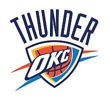 Oklahoma City Thunder Photographic Print