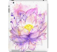 Lotus Flower Watercolor 4 iPad Case/Skin
