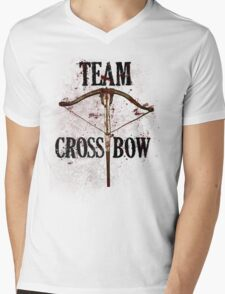 Team Crossbow Mens V-Neck T-Shirt