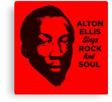 Alton Ellis Sings Rock And Soul Canvas Print