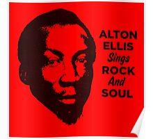 Alton Ellis Sings Rock And Soul Poster