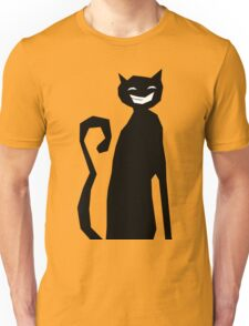 The Happiest Black Cat in the World Unisex T-Shirt
