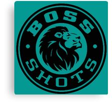 Boss Shots Canvas Print
