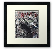 Broken Trust Framed Print
