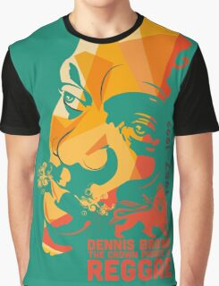 Dennis Brown The Crown Prince Of Reggae Graphic T-Shirt