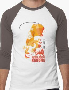 Dennis Brown The Crown Prince Of Reggae Men's Baseball ¾ T-Shirt