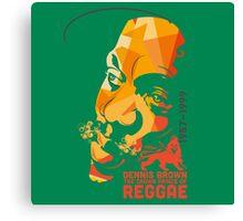 Dennis Brown The Crown Prince Of Reggae Canvas Print