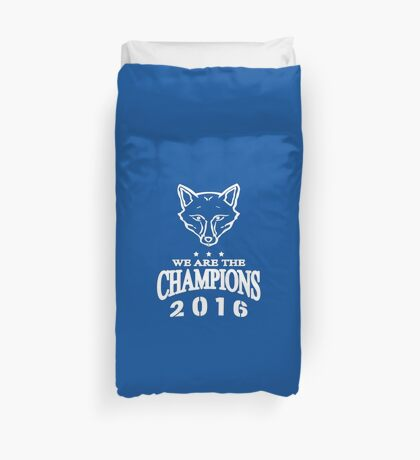 Leicester champions Duvet Cover