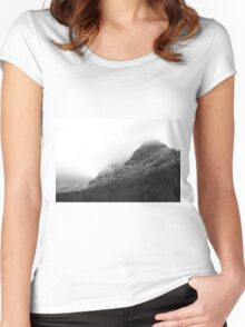 After a sunny day Women's Fitted Scoop T-Shirt