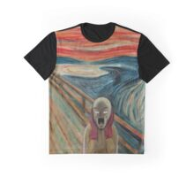 The Screaming Saitama Graphic T-Shirt