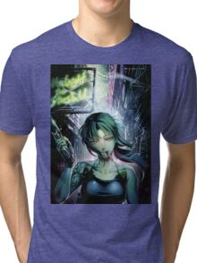 Black Lagoon 03 Tri-blend T-Shirt