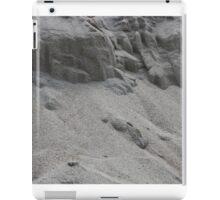 closeup of sand pattern of a beach iPad Case/Skin