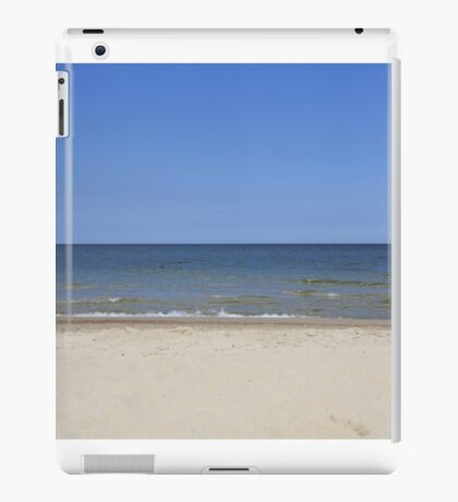 tranquil and serene Baltic sea  iPad Case/Skin