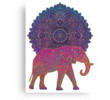 Pink elephant Canvas Print