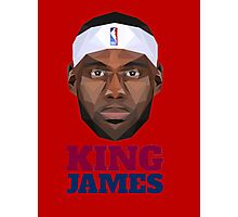 LEBRON JAMES TEE Photographic Print