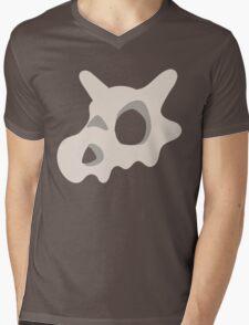 Pokemon, Cubone skull Mens V-Neck T-Shirt