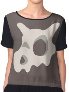Pokemon, Cubone skull Chiffon Top