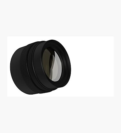lens for the Camera isolated  Photographic Print